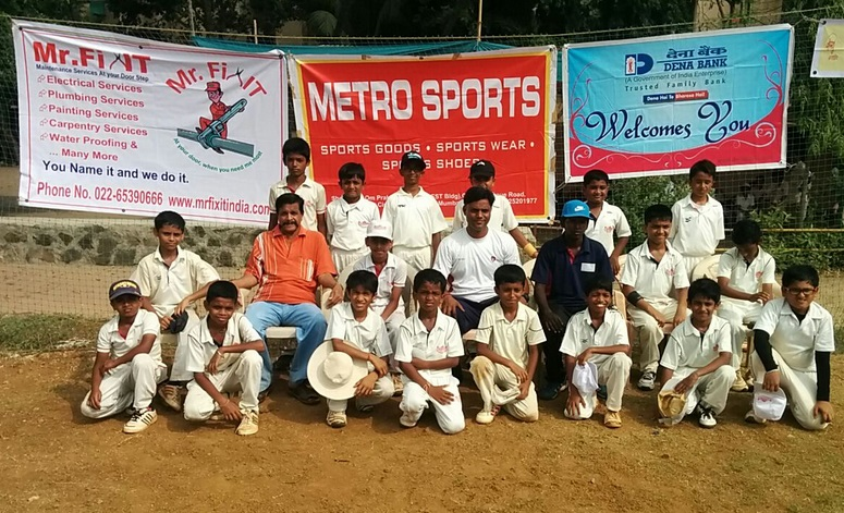 Achievers Cricket Academy U 12 cricket tournament teams