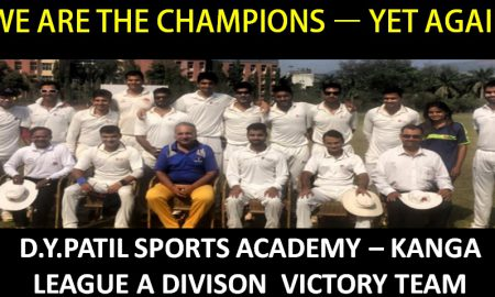 Kanga Div 'A' Champs - D.Y. Patil SA