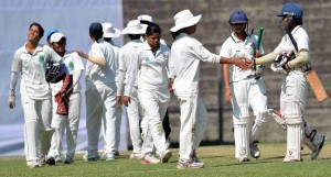 North Zone takes the lead against West Zone in Womens U-19 two day tournament