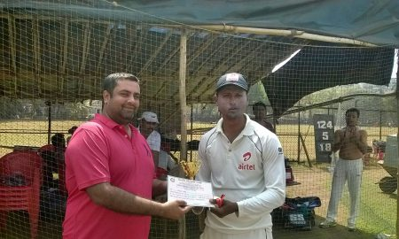 Man of the Match: Mayur More of Airtel One (78 not out and 2-10 in 2 overs)