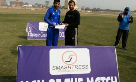 Man of the Match: Avneet of ZA Cricket Club (80 runs and 6 wickets)