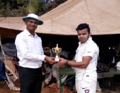Man of the Match: Vishal Dadgaonkar of route SMS (82 runs and 2-23 in 3.3 overs)