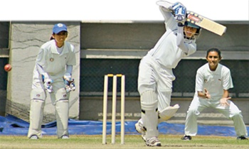 Devika Vaidya of Maharashtra remained unbeaten on 109