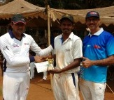 Man of the Match: Rajesh Jadhav of HUL (29 not out off 16 balls)