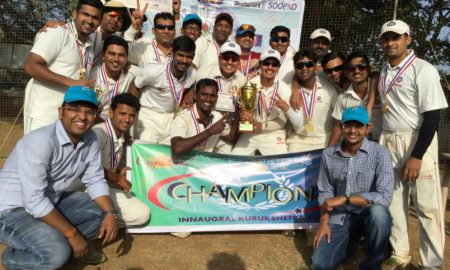 Kotak Bank Winners Kurushetra Cricket Cup