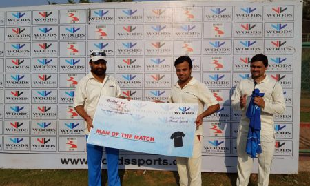 Man of the Match: Anand (1-23 in 4 overs and 60 not out off 42 balls)