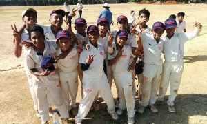 Winning team: Achievers Cricket Academy Red