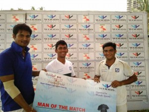 Man of the Match: Eric Baccha (4-10 in 4 overs),Mumbai