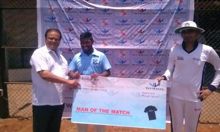 Man of the Match: Kailash (2-18 in 4 overs and 26 runs off 31 balls)