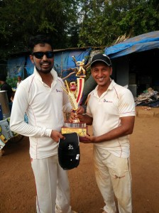 Man of the Match: Sandesh Romade (2-22 in 4 overs and 34 not out off 22 balls)