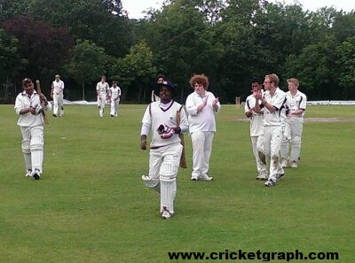Kishore Waghela Sir in England County Matches