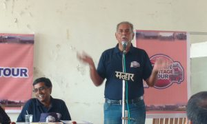 Yajurvindra Singh at the opening cermony of Cricket Heritage Tour