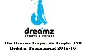 The Dreamz Corporate Trophy Regular-T20 Logo