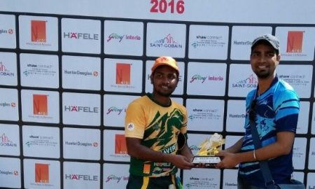 Man of the Match -Sumit Nigade - Arch Mavericks Team, Mumbai