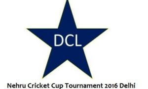 Nehru Cricket Tournament logo