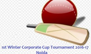 1st Winter Corporate Cup Tournament 2016-17 Noida