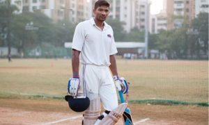 Alpesh Ramjani (Mumbai Police Team) 67 runs in 35 balls 4 fours and 6 six