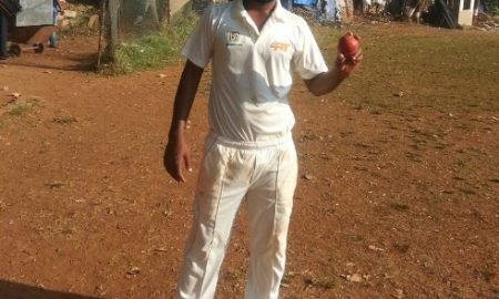 Amit Kadam (Dena Bank) 14 wkts against Mumbai Port Trust, Mumbai