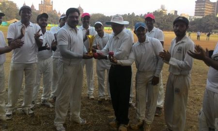 Amrendra Singhdeo (Global Hospital Team) 101 runs in 63 balls