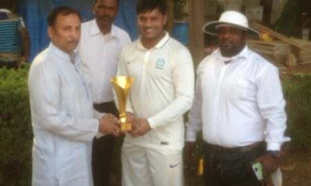 Man of the Match - Ishan Mithbavkar-Abbott Healthcare Team, mumbai