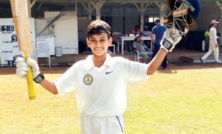 Kaushal Valsangkar (IES VN Sule Team) 128 runs in 201 balls 14 fours