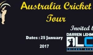 Australia Cricket Tour 2017