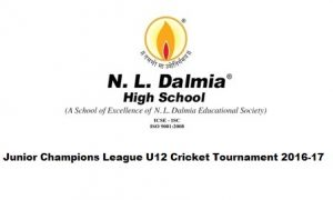 NL Dalmia Junior Champions League U12 Cricket Tournament 2016-17