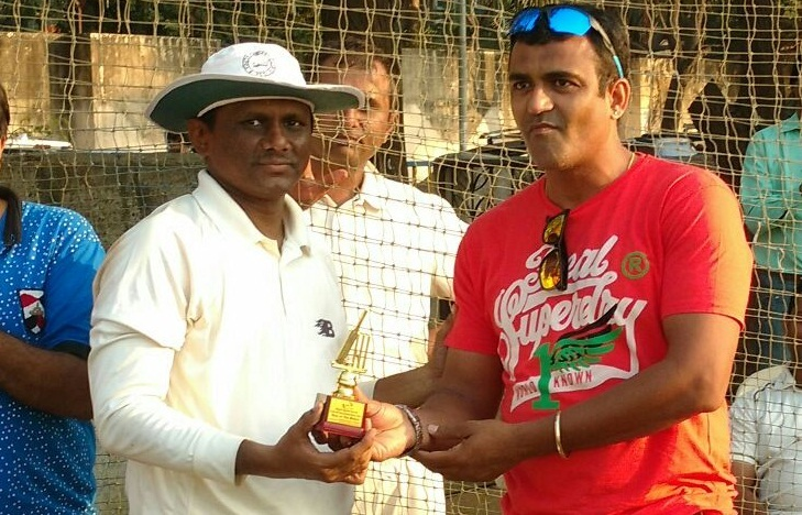 Rajesh Mehta (KSG Strikers Team) 131 runs in 102 balls 17 fours and 2 sixes