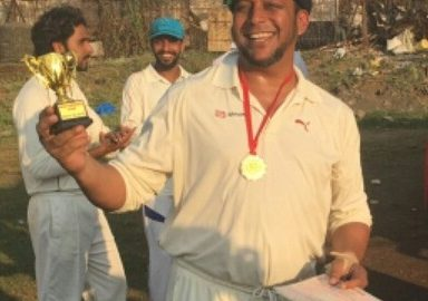 Rehman Siddique (Abbott Healthcare Team) 48 Runs 56 balls