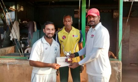Rohan Pawar (Automotive Team) 107 runs in 59 balls 13 fours 3 sixes