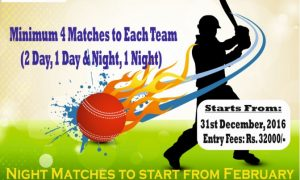 Smashtress 8th corporate cricket league tournament 2016-17, noida