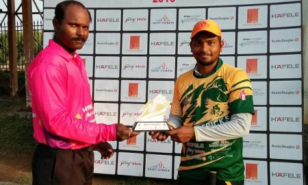 Man of the Match - Sumit Nigade 102 runs in 60 balls 13 four and 2 six Arch Mavericks Team, At20, Mumbai