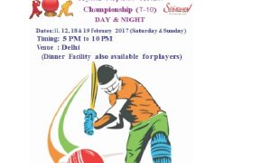 Crystal Corporate Cricket Championship (T-10) DAY & NIGHT Tournament