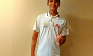 Aayush Zimare (Mumbai Under 14 Team) 81 runs and 6 wkts