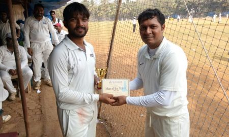 Dyansagar Patil (Left side - WNS Team) 31 runs in 24 balls and 5 wkts