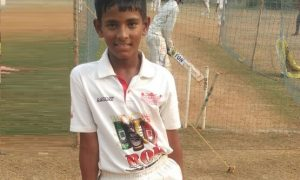 Harsh Tathare (PJ Hindu Gymkhana Team) 46 runs 36 balls 7 fours