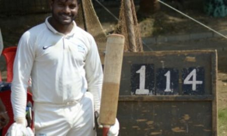 Ishan Mithbavkar (Abbott Healthcare Ltd Team) Not out 114 runs in 102 balls