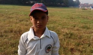 Shubham Shinde (Jolly brother CC Team) 85 runs 76 balls 12 fours