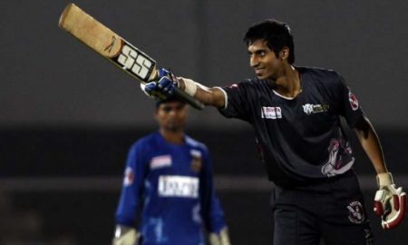 Kevin Almeida (DY Patil B Team) 53 runs in 29 balls 7 fours and 2 sixes
