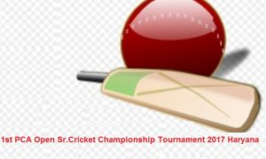 1st PCA Open Sr.Cricket Championship Tournament-2017