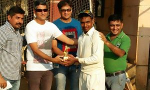 Parth Shah (Kandivali Cricket Association Team) Not out 115 runs in 105 balls and 11 Fours