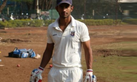 Rahul Tripathi (BPCL Team) 191 runs 154 balls 22 fours and 9 sixes