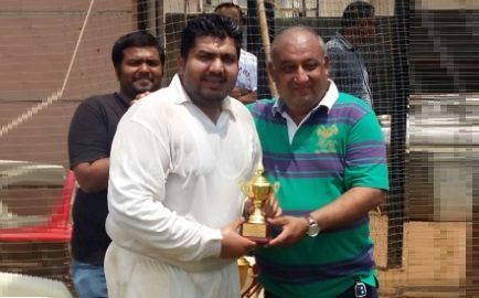 Amar Bhuta (Royals From Nil Yog Team) 176 runs in 88 balls 21 fours and 11 sixes