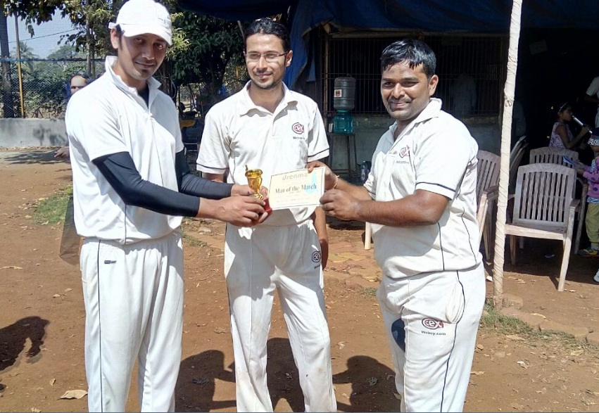 Submit chiluka ( CEX Team ) 47 runs in 35 balls and 4 wkts