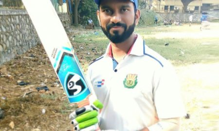 Viraj Gamare (Worli Sports Club Team) 85 runs in 70 balls 9 fours and 2 Sixes