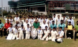 Al Barkat School Kurla - Winner Up Team in Giles Shield Inter School Cricket Tournament 2016-17