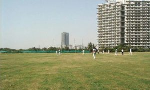 Raisina Greens Cricket Ground