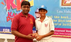 Aadit Degaonkar (Santosh Sports Academy Team) 144 runs