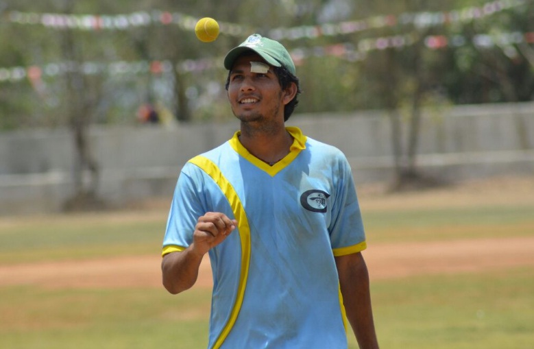 Arun Yadav (Route Mobile Team) Not out 131 runs in 96 balls 16 fours and 2 sixes