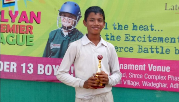 Atharva Temkar (Chandrakant Patkar School) 52 runs in 43 balls 7 fours and 3 sixes and 3 wkts
